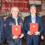 Oberkirchen: Am Aschermittwoch wurden 2 Willy-Brandt-Medaillen verliehen