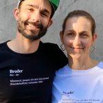 Stylische Shirts zur Unterstützung der Einzelhändler in St. Wendel