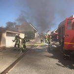 Garagenbrand in Baltersweiler