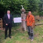 Kreissparkasse St. Wendel unterstützt Naturwildpark Freisen mit Spende