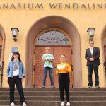 Zwei Schüler des Gymnasium Wendalinum nahmen erfolgreich am Wortsegelwettbewerb teil