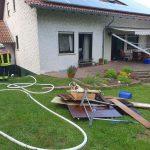 Sötern: Feuerwehr löscht Hausbrand