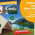 Gewinne das Camping deines Lebens bei Globus St. Wendel
