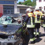 Feuerwehr Nonnweiler nimmt Übungsbetrieb wieder auf