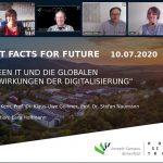 Fast Facts for Future – Auftaktveranstaltung zum Thema Nachhaltige Digitalisierung