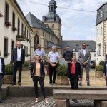 Gründungsvorstände der Deutsche Stiftung für Engagement und Ehrenamt besuchen mit Nadine Schön die Gemeinde Tholey