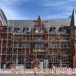 """Ein """"stadtbildprägendes Schmuckstückchen"""" – Komplettsanierung des historischen Landratsamts schreitet weiter voran"""