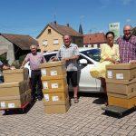 """""""BRILLEN-ohne-GRENZEN"""" liefert 5.500 Brillen zum L.S.F. Lunettes-sans-Frontiere ins Elsass"""