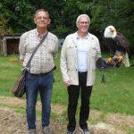 Adler und Falken auf dem Schaumberg