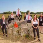 8 Auszubildenden starten bei der Kreissparkasse in St. Wendel in ihre berufliche Zukunft