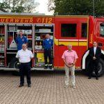 Neues Löschgruppenfahrzeug des Löschbezirks Hasborn-Dautweiler eingesegnet