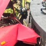 Unfall mit 3 Fahrzeugen in Urexweiler