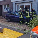 Aufsehenerregender Unfall in Freisen