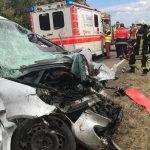 Schwerer Unfall auf der B269 zwischen Tholey und Alsweiler