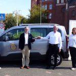 Rotary Club St. Wendel spendet Auto für die Hospizhilfe