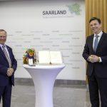Thomas Bruch mit dem Saarländischen Verdienstorden ausgezeichnet