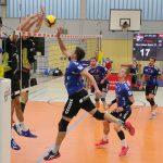 Volleyball: Zweitliga-Premiere mit Unglück in der Crunchtime