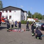 Bei der Feuerwehr Nonnweiler hat Grundausbildung begonnen
