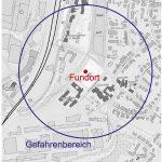 Alte Weltkriegsbombe in St. Wendel gefunden