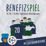 Benefizspiel zugunsten der Aktion #leavenoonebehind