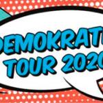 Demokratietour auf dem Schlossplatz St. Wendel