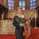 Weltklasse-Geigerin Isabelle Faust spielte in Tholeyer Abteikirche