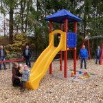 Neuer Kinderspielplatz im Hasborner Waldstadion übergeben