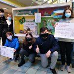 Schüler*Innen der Gemeinschaftsschule Marpingen übergeben Spendenscheck für ihre brasilianischen Partner