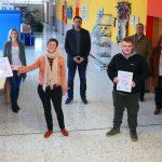 Freisener Gemeinschaftsschüler bauen 19 CO2-Ampeln für die Grundschule