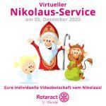 Der Nikolaus 2.0 kommt per Video zu den Kindern