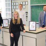 CO2 Warnampeln am Gymnasium Wendalinum installiert