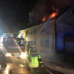 Haus brennt in Braunshausen