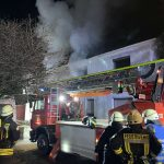 Erneuter Dachstuhlbrand in Braunshausen