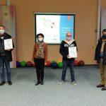 CO2-Warner für Kindergärten und Grundschulen in Nohfelden in Betrieb genommen