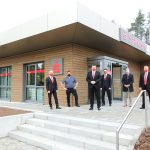 Neueröffnung der Sparkasse in Türkismühle