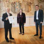 Franz-Josef Schmidt aus Oberlinxweiler mit Saarländischer Ehrenamtsnadel ausgezeichnet