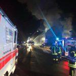 Bisher einsatzreiche Weihnachten für die Feuerwehren des Landkreises