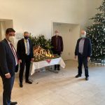 Weihnachtskrippe aus der Gemeinde Nohfelden im Saarländischen Landtag