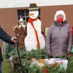 In Eitzweiler war der Weihnachtsmann unterwegs
