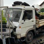 Ölspur und Verkehrsunfall in Güdesweiler