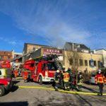 Brand mit Menschenrettung in St. Wendel