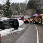 Verkehrsunfall auf der L365 in Nonnweiler