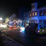 Explosion in einem Kasteler Wohnhaus