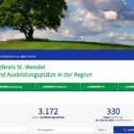 Jobzentrale des Landkreises mit neuen Funktionen und in neuem Design