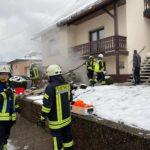 Bierfeld: Feuerwehr löscht Kellerbrand