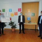 Nohfelden Gewerbeverein übergibt Spende für Kinder- & Jugendarbeit