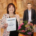 Anette Schu mit Sportplakette des Saarlandes ausgezeichnet
