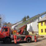 Bosen: Feuerwehr muss Kaminbrand löschen