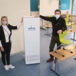 Kreisstadt stellt 40 Luftreinigungsgeräte in allen Unterrichtsräumen der vier St.  Wendeler Grundschulen auf