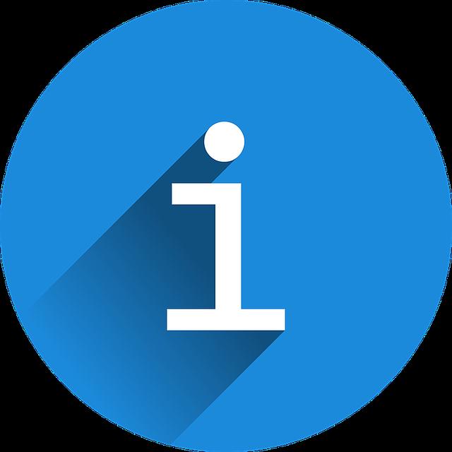 Infosymbol, Informationen, News, Kurznachrichten